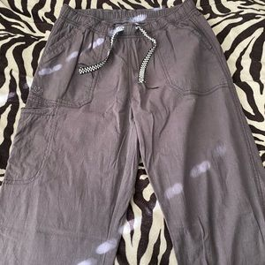 Grey Scrub Pants XS